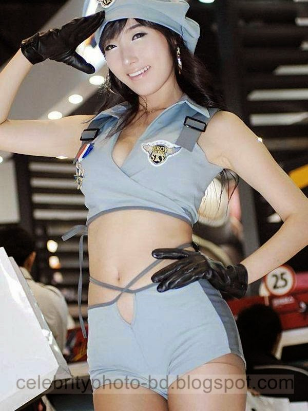 Auto Show Girls Sexy Expo Photos In Group International Exhibition