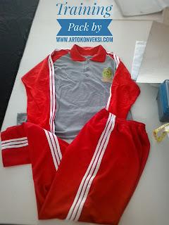 Buat dan Bikin sportwear baju kaos olahraga dan training