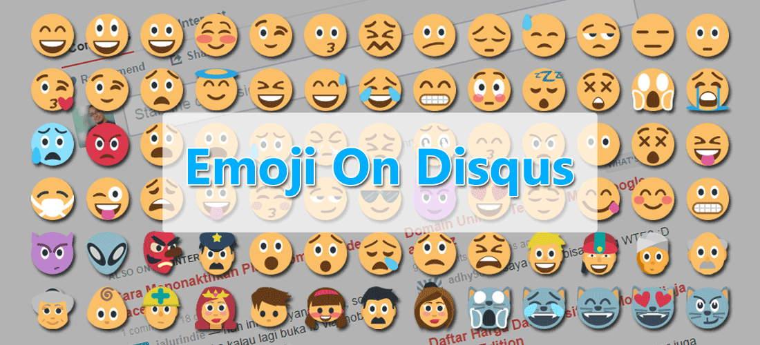 Biar Tambah Seru Berkomentar, Coba Emoji Pada Komentar Disqus