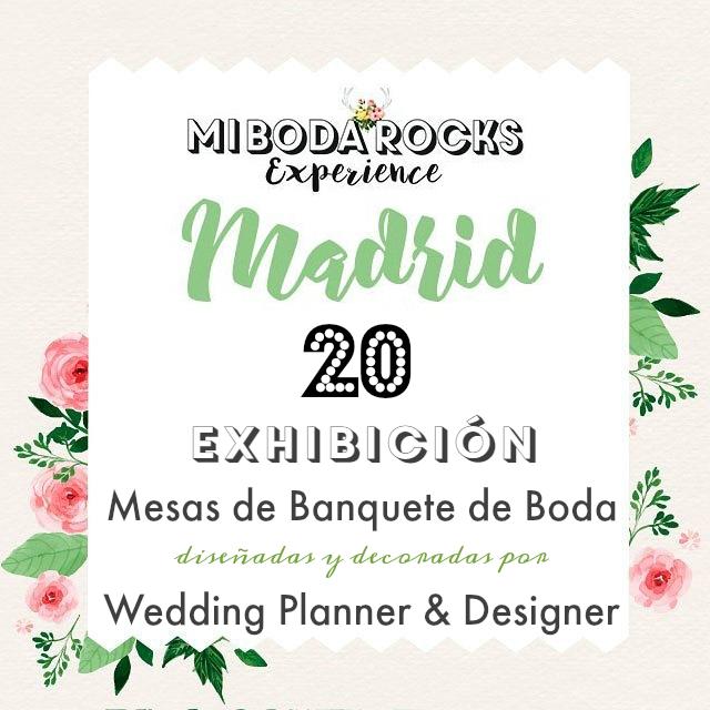 20 exhibicion mesas banquete boda decoradas wedding planner mi boda rocks experience