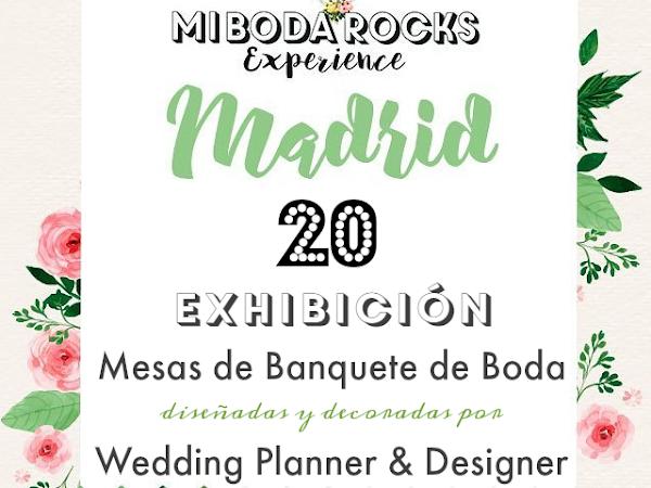 20 Exhibición Mesas Banquete de Boda diseñadas por WP