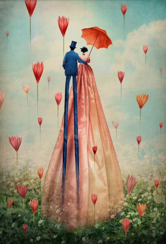 06-Good-morning-Catrin-Welz-Stein-Collages-of-Illustrations-and-Photographs-Resulting-in-Surrealism