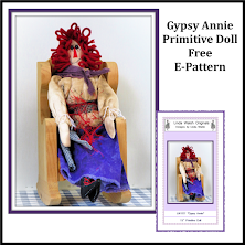 Gypsy Annie's Free Primitive Cloth Doll Free<br> E-Pattern