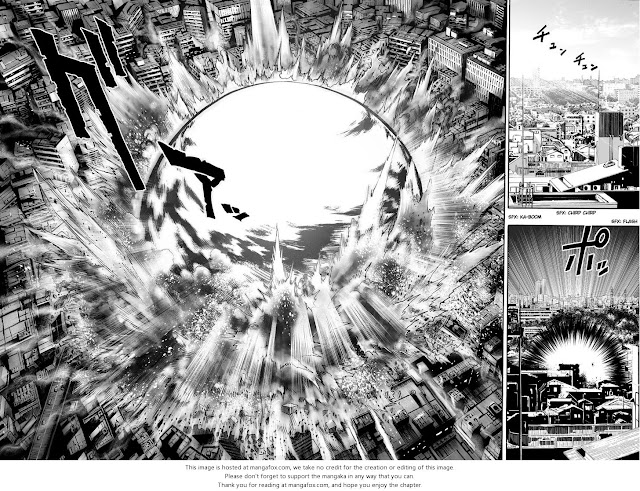 One Punch Man Manga chapter 1 page 3