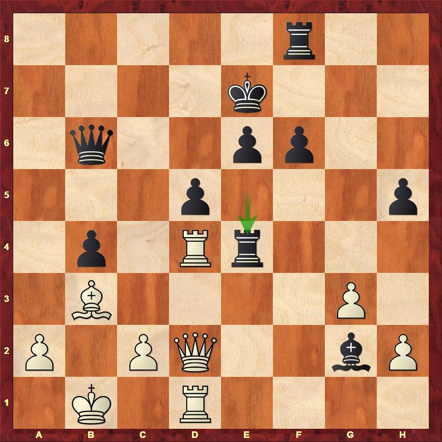 Le tournant de la partie entre Sergey Karjakin et Fabiano Caruana dans ce tournoi d'échecs des candidats - Photo © Chess & Strategy