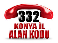 0332 Konya telefon alan kodu