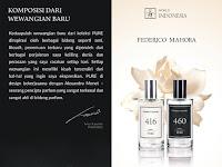 Peluncuran Produk Baru Pure Parfum Federico Mahora