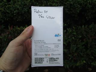 Xiaomi Redmi 3x 2/32 New Garansi Distributor 1 Tahun