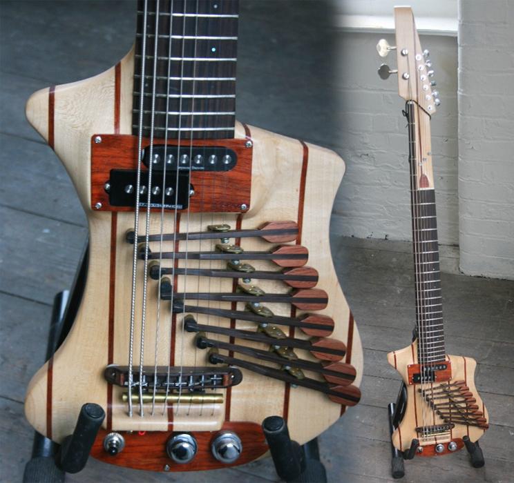 guitar blog porl thompson 39 s one off 8 string guitar. Black Bedroom Furniture Sets. Home Design Ideas