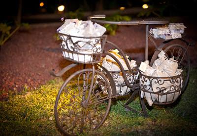 Bici vintage deco boda decoración