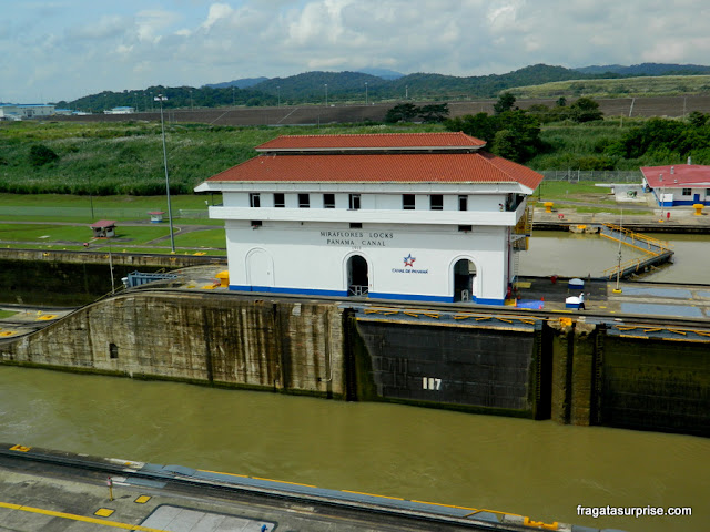 Canal do Panamá - Eclusas de Miraflores