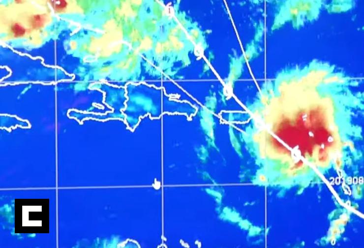 Video: Dorian coge fuerza mientras se acerca a Puerto Rico