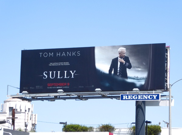 Sully movie billboard