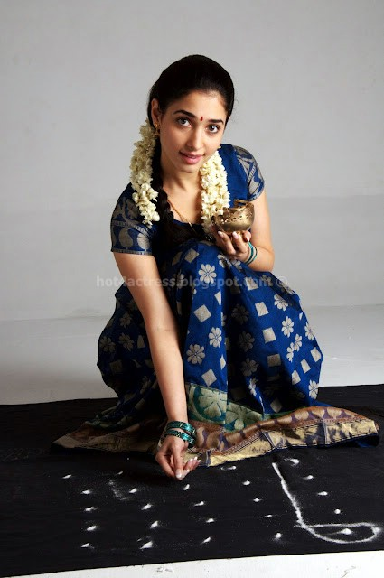Tamanna in traditional tramil dress