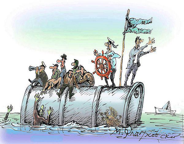 В России с ужасом ожидают нефтяное эмбарго