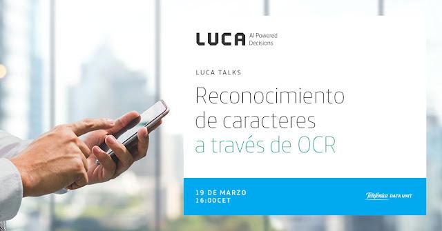 LUCA Talk: Reconocimiento de caracteres a través de OCR