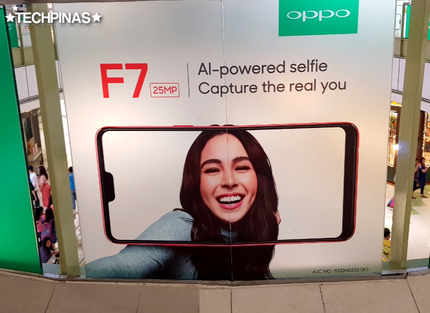 Julia Barretto OPPO F7, Julia Barretto
