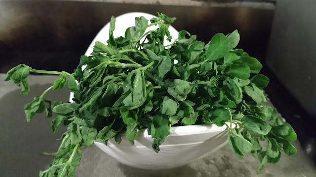 Fenugreek leaves Methi leaves healthy dinner recipe