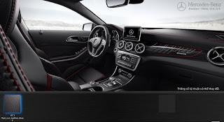 Nội thất Mercedes AMG GLA 45 4MATIC Edition 1 2016 màu Đen 811