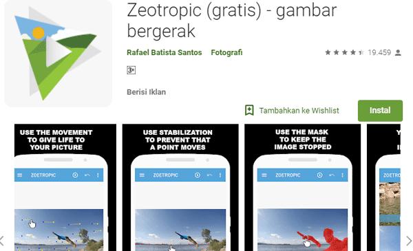 aplikasi agar gambar bisa bergerak terbaik