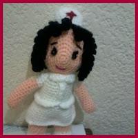 Otra enfermera amigurumi