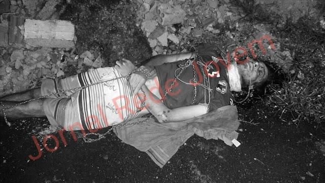 Homem é  encontrado amarrado morto em rua de Colombo