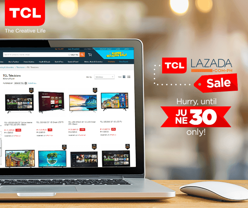 TCL Holds Special Promos At Lazada Philippines