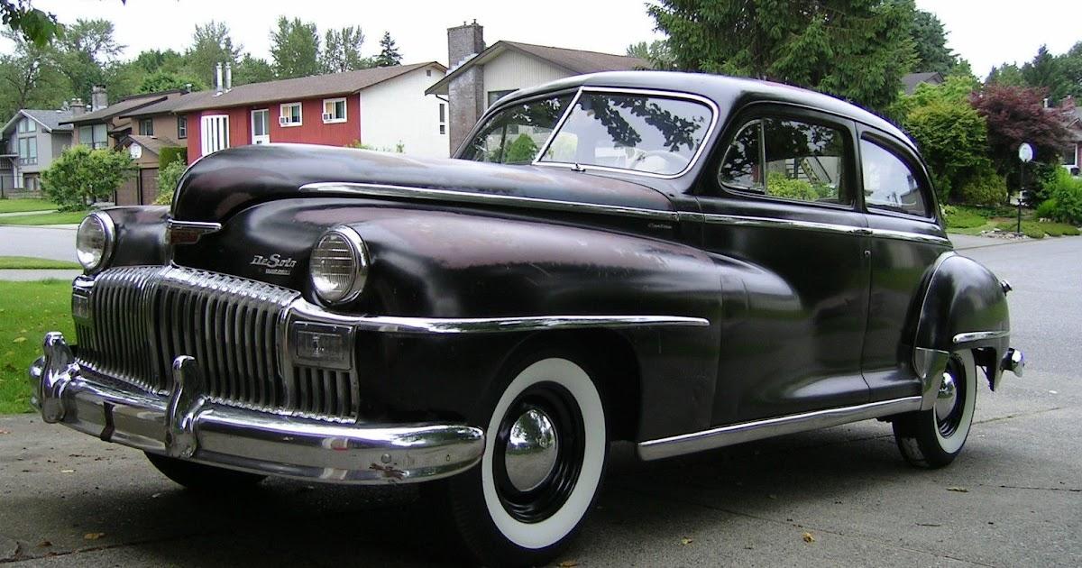 All american classic cars 1948 desoto custom 2 door for 1948 ford 2 door sedan