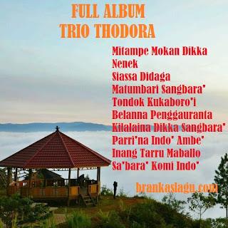 Download Lagu Toraja Trio Thodora Full Album
