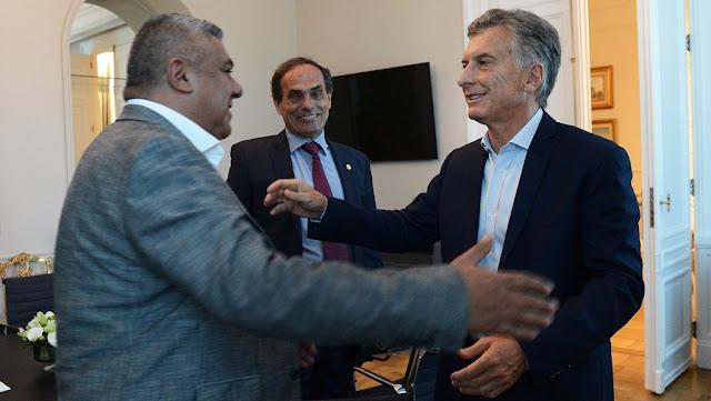 Macri recibió a Tapia en la Casa Rosada