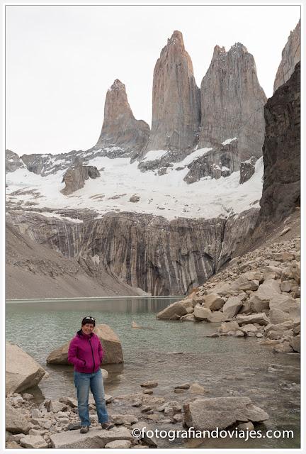 Mirador Torres del Paine en Chile