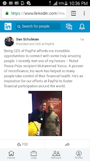 president and CEO at PayPal