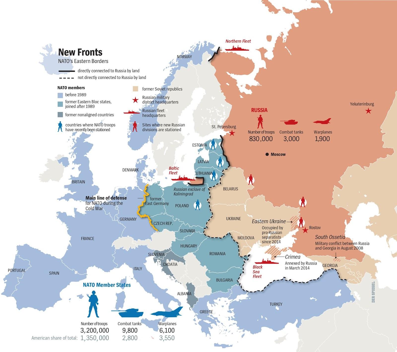 Вот так мы их бить будем! План войны РФ против НАТО