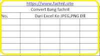 cara convert file excel ke gambar jpg