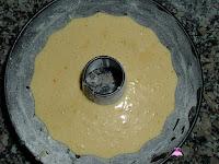 Mezcla en el molde