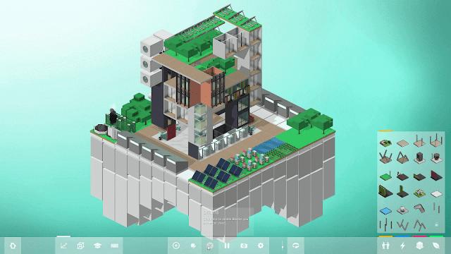 Construye el edificio ecológico de tus sueños con Block'hood