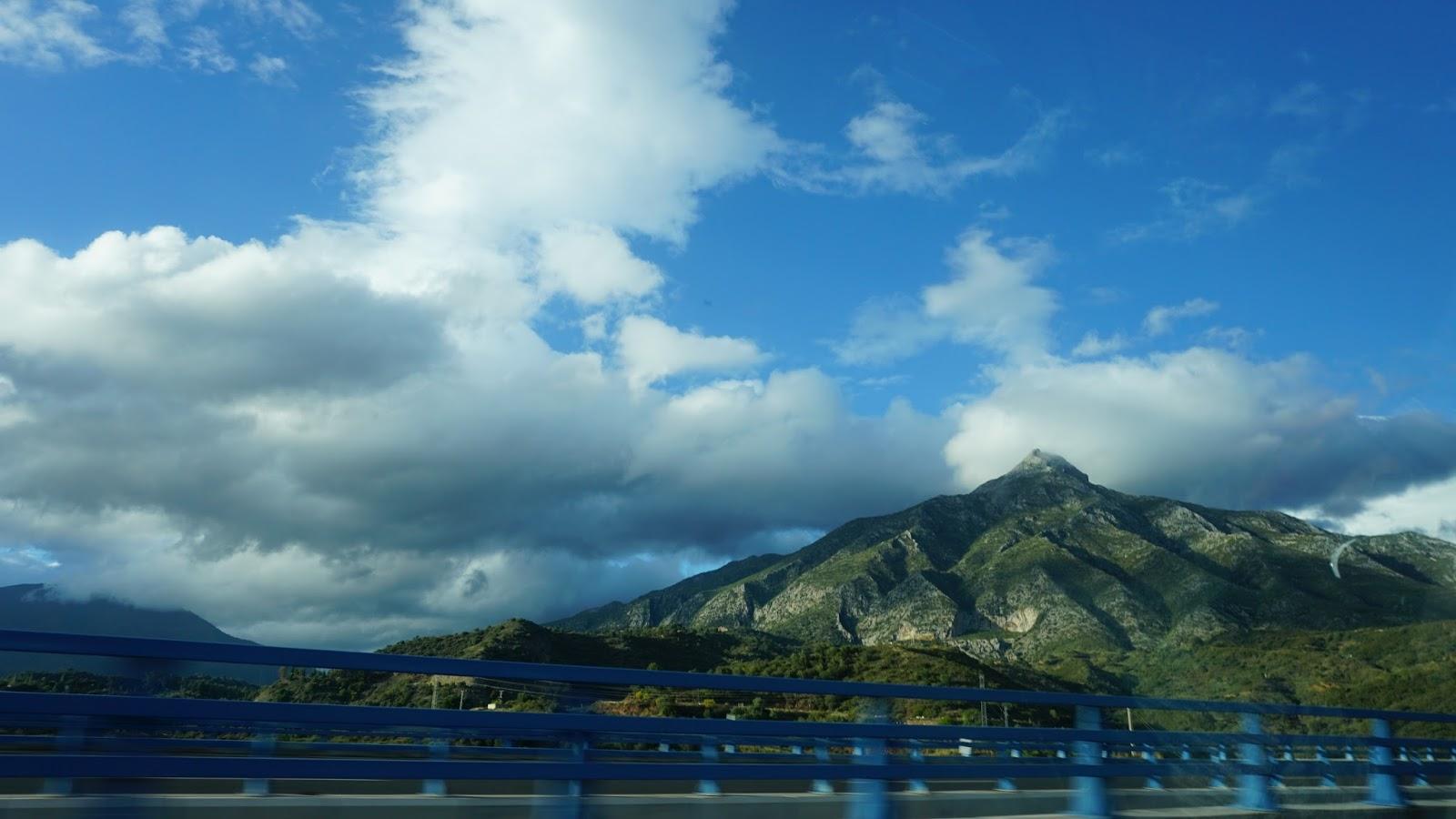 Almeria, Hiszpania, góry