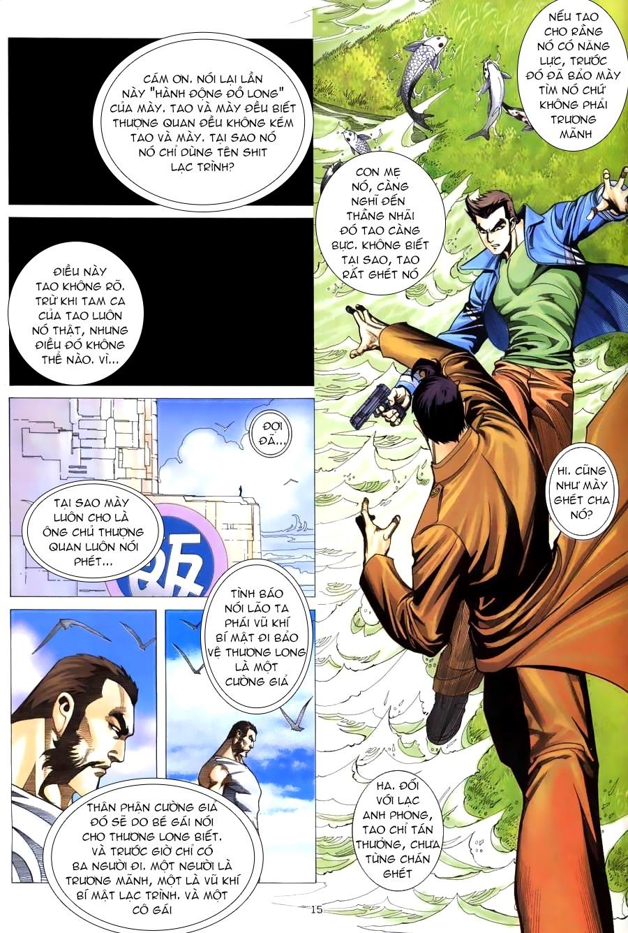 Xích Trụ Phạn Đường chap 12 - Trang 14