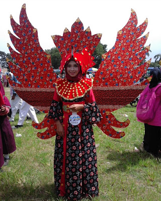 Karnaval Batik Besurek 2017