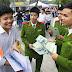 Đang thực hiện nghĩa vụ Công an Nhân dân có được dự thi vào Quân đội?