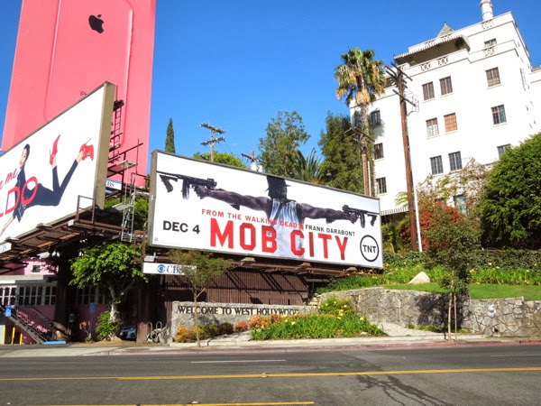 Mob City TNT billboard