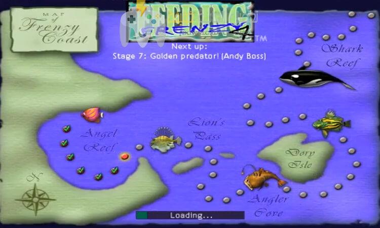 تحميل لعبة السمكة 4 Feeding Frenzy الجديدة