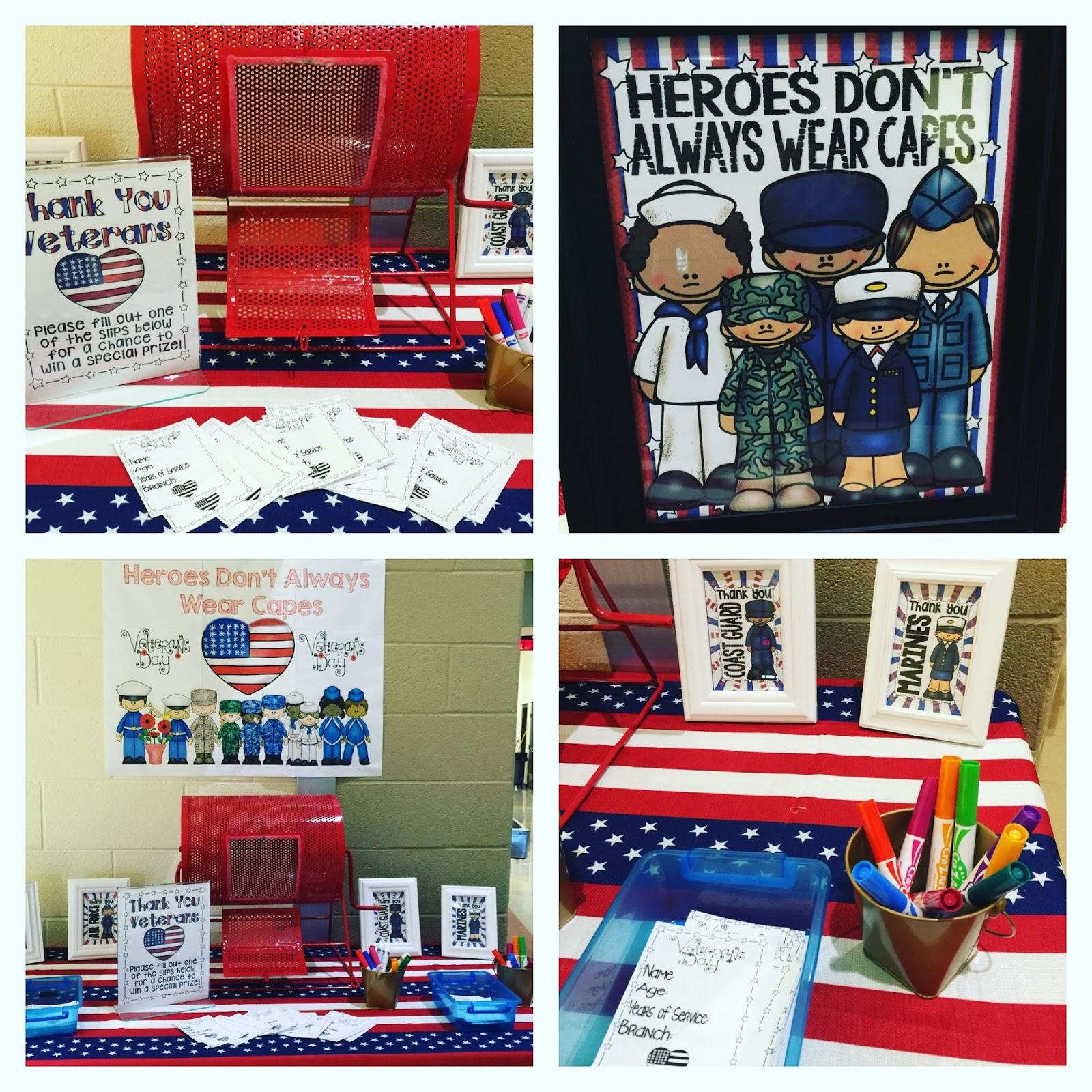 Seusstastic Classroom Inspirations Veterans Day Freebie