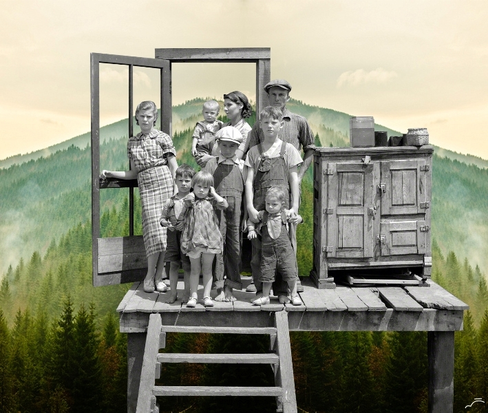17-Family-Merve-Özaslan-Natural-Act-Photographic-Collage-Humans-with-Nature-www-designstack-co