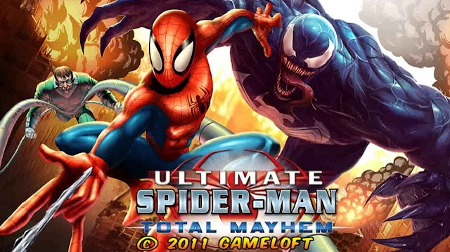 Download Ultimate Spider Man Total Mayhem Mod Apk Data