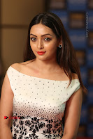 Actress Pooja Salvi Stills in White Dress at SIIMA Short Film Awards 2017 .COM 0166.JPG