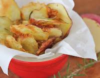 Chips de Batata-Doce com Alecrim (vegana)