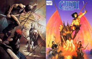 Conan, a szigetek ura regény