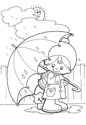 Vocabulario - la lluvia