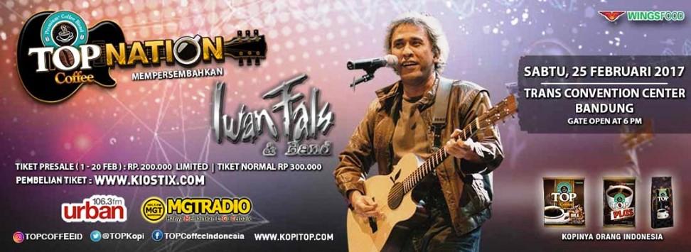 konser Iwan Fals di Bandung Februari 2017